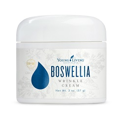 Boswellia Wrinkle Cream featuring Young Living Essential Oils