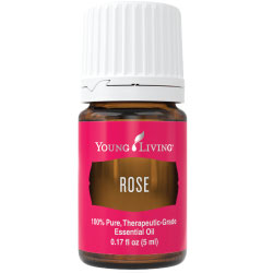 Rose Essential Oil and Essential Oils for Depression featuring Young Living Essential Oils